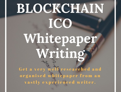 Write a well researched cryptocurrency ICO whitepaper