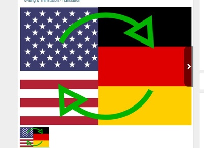 Manually Translate Words From English To German And Vice Versa