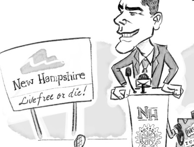 Create editorial/political cartoons for you