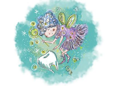 Draw a children's book illustration