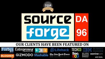 Publish guest post on sourceforge.net DA96, PA95