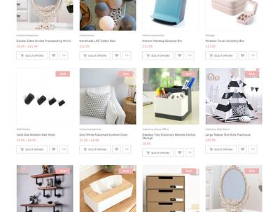 Design/Develop a Bespoke eCommerce Magento2/Woocommer/Prestashop