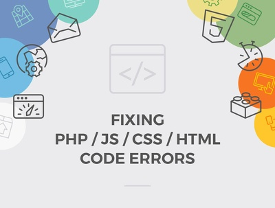 Fixing PHP/JS/CSS/HTML Code Errors
