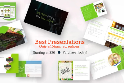 Design kickass Modern Powerpoint Presentation