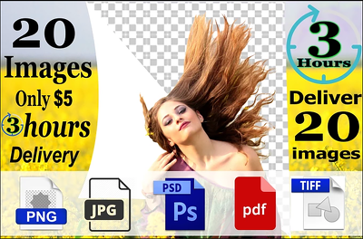 Cut Out 45 Images, Background Removal And Fast Delivery