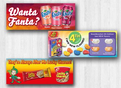 design your web banner/advert