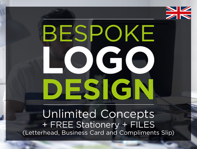 Professional Logo Design (unlimited) + Full Stationery + Files