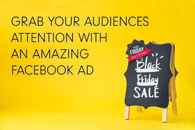 Design a 'ATTENTION GRABBING' ad for your social media accounts