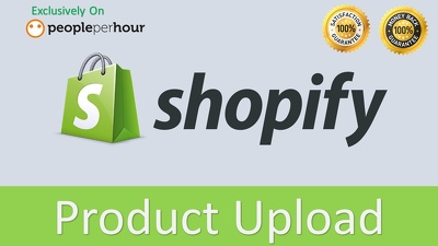 Products upload to your Shopify store
