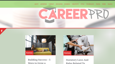 Publish your URL in a guest post on my CareerPro.com blog DA 31