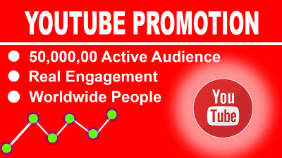 Promote your YouTube video with social media views