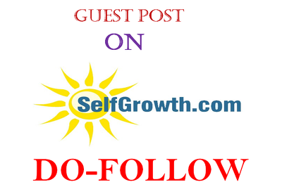 I Will Publish Guest Post On Selfgrowth DA 77