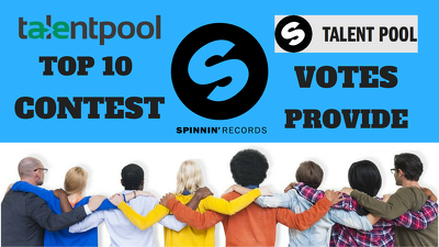 Bring increase spinnin records talent pool votes of your track