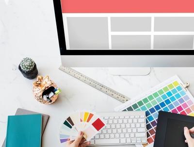 Website homepage/Landing page UI Design (PSD)