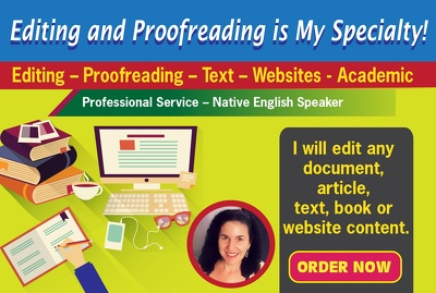 Edit your website for grammar, spelling, syntax and punctuation