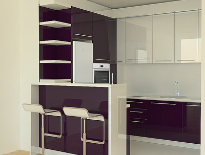Create 3d rendering images of your kitchen