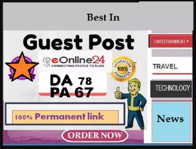 Publish Your Content On Eonline24 Dofollow