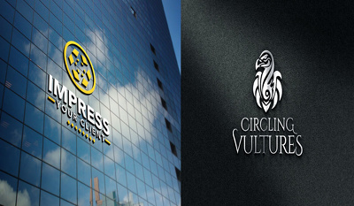 Replicate Your Logo Or Text In Metal, Glass Building or wood