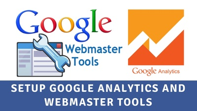 Setup Google Analytics Webmaster Tools