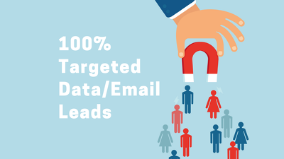 Provide 200 Leads Data Targeted By Location, Industry & Position