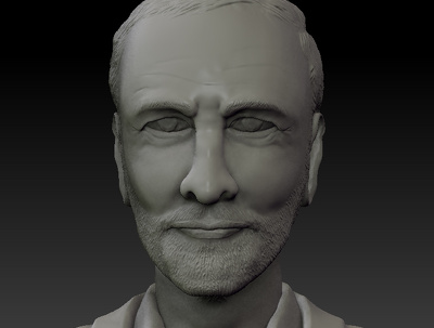 Zbrush Human sclupture ready for 3d Print