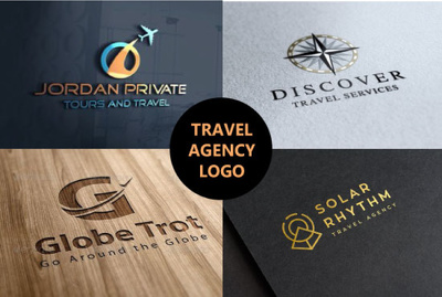 I Will Design Travel Agency, Tourism And Vacation Logo
