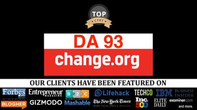 Publish guest post on change change.org DA99, PA92 Nofollow link
