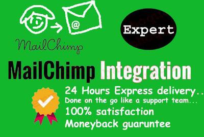 Integrate Mailchimp Or Setup Mailchimp Automation Campaign