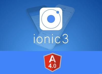 Design & develop IONIC (3/4) / Angular7 Hybrid Mobile App