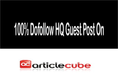Write and publish premium Guest Post on Articlecube