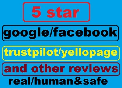 Post 8 google  review on your business