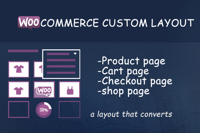 Customize woocommerce page layouts