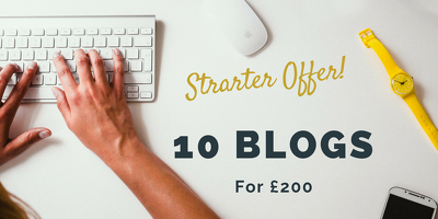 Write 10 keyword-rich blog posts on any topic to boost SEO