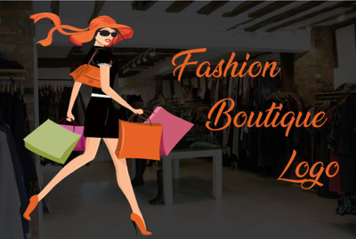 Design Feminine Fashion Boutique And Clothing Logo