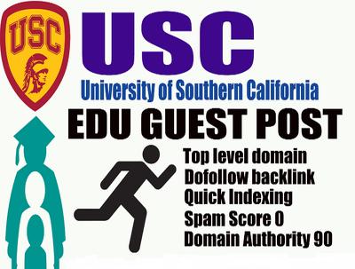 Guest Post On Southern California University usc.edu DA 90 Plus