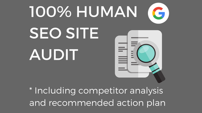 Provide a SEO site audit for £40 in 48 hours
