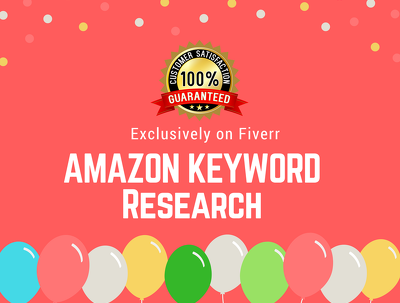 Do your amazon product Niche SEO Keyword Research