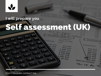 Prepare self assessment Tax Return for HMRC