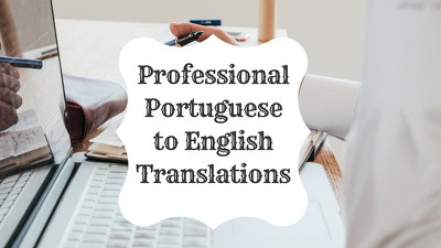 Translate up to 1000 words from Portuguese to English for $10