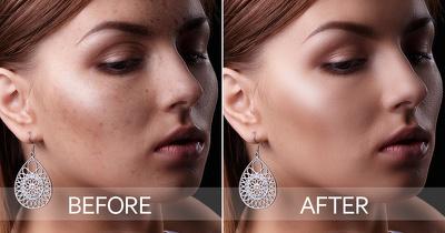 Adobe photoshop edit photo retouching - 2 images