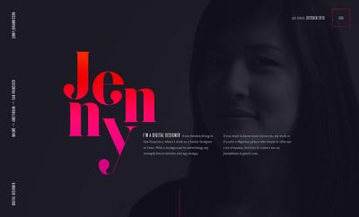 Design a portfolio website for you