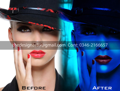 10 Professional Photos Editing, Retouching, Manipulation