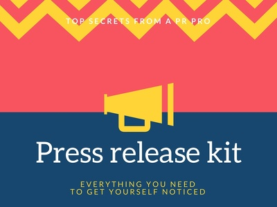 DIY press release kit in a day