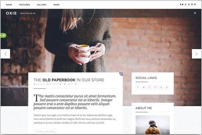 create a modern and responsive wordpress website design