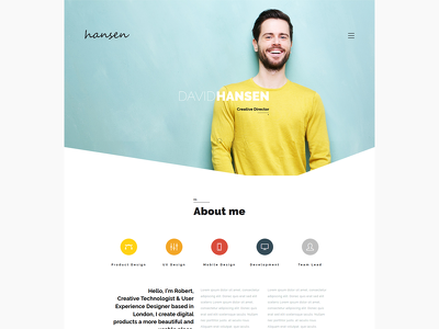 Build Outstanding Online Personal Portfolio/resume Website