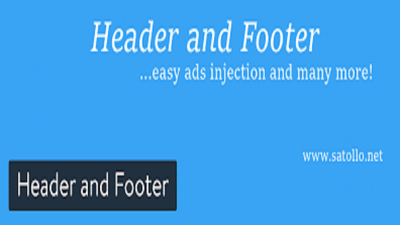 Design beautiful header and footer for your site