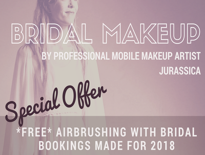 Provide professional airbrushed Bridal makeup for your wedding