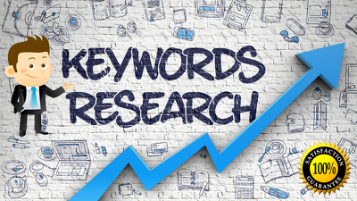 Run in depth seo keyword research for your website or blog