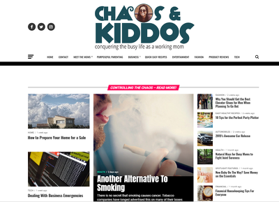 Post Your Blog Post on My Chaos & Kiddos DA 32/ PA 38 Blog