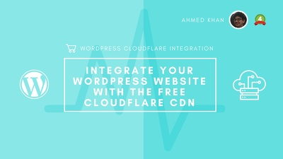 Integrate your WordPress Website with the Free CloudFlare CDN